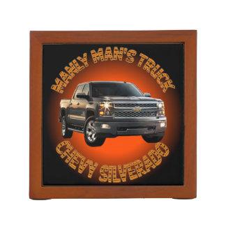 Porta-lápis Organizador da mesa do caminhão de Chevy Silverado
