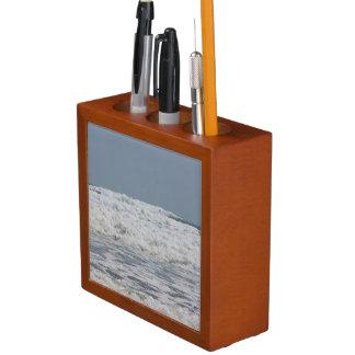 Porta-lápis Organizador da mesa do oceano