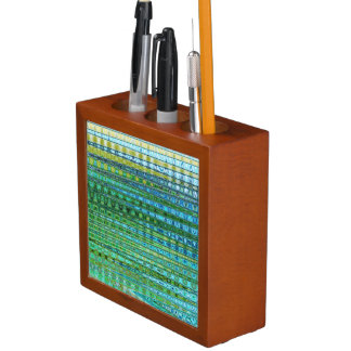 Porta-lápis Organizador da mesa do plâncton vegetal pelo