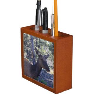 Porta-lápis Organizador da mesa dos alces