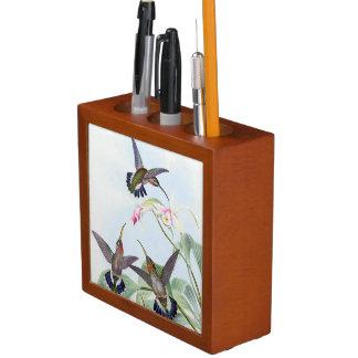 Porta Lápis Organizador da mesa dos animais das flores dos