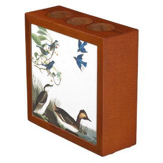 Porta Lápis Organizador da mesa dos animais selvagens dos