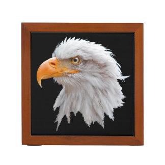 Porta-lápis Organizador do Alasca da mesa da águia americana