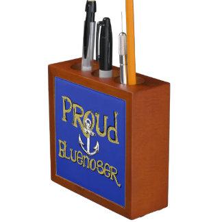 Porta-lápis Organizador orgulhoso da mesa da âncora de
