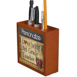 Porta Lápis Quadro do estilo do vintage para um ó professor da