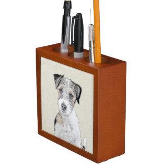 Porta-lápis Russell Terrier (áspero)