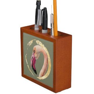 Porta-lápis Senhora cor-de-rosa