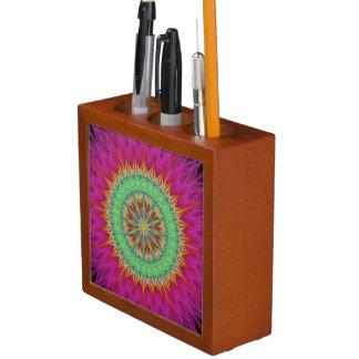 Porta-lápis Símbolo da mandala