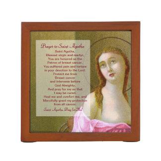 Porta Lápis St. Agatha (M 003) com oração
