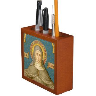 Porta-lápis St. Clare de Assisi & das freiras (SAU 27)