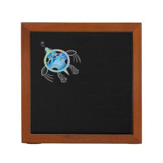 Porta-lápis Tartaruga de mar pintada