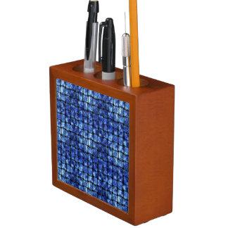 Porta-lápis Weave elétrico -