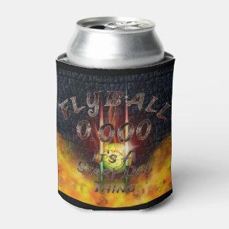 Porta-lata 0,000 Flyball Flamz: É uma coisa do cão do começo!