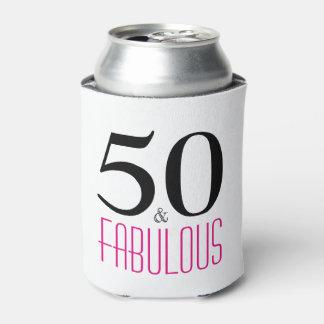 Porta-lata 50 e o 50th presente de aniversário fabuloso podem