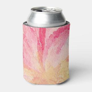 Porta-lata A aguarela floral bonito bebe o refrigerador
