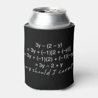 Porta-lata A álgebra porque deve humor do cuidado de I
