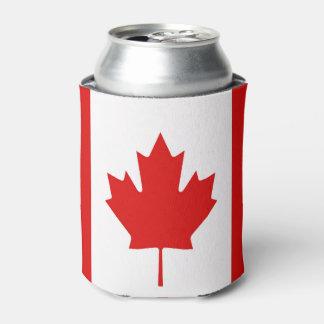 Porta-lata A bandeira da folha de bordo de Canadá