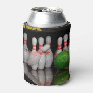 Porta-lata A boliche enlata o refrigerador (o em da batida