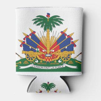 Porta-lata A brasão de Haiti
