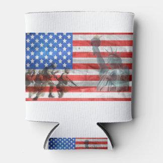 Porta-lata A casa do escritório do patriota personaliza