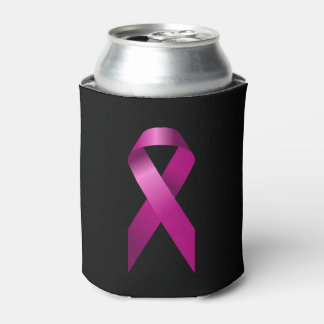 Porta-lata A consciência cor-de-rosa do cancro da mama da