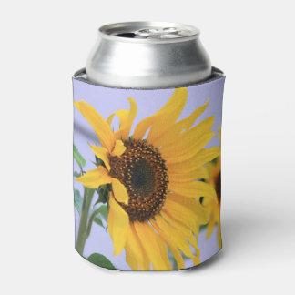 Porta-lata A flor do girassol pode refrigerador