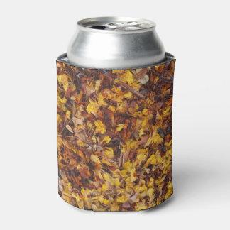 Porta-lata A foto da maca da folha pode refrigerador
