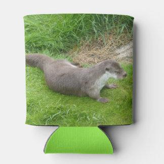 Porta-lata A lontra européia de passeio pode refrigerador