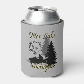 Porta-lata A lontra o Lago Michigan pode refrigerador