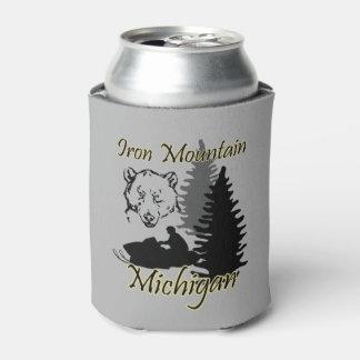 Porta-lata A montanha Michigan do ferro pode refrigerador
