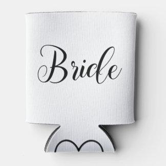 Porta-lata A noiva pode refrigerador com inicial customizável