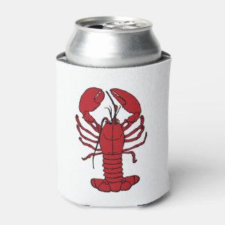Porta-lata A praia náutica da lagosta bonito pode