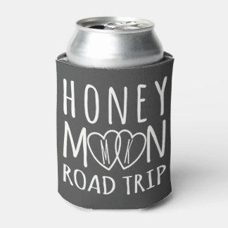 Porta-lata A viagem por estrada Monogrammed da lua de mel