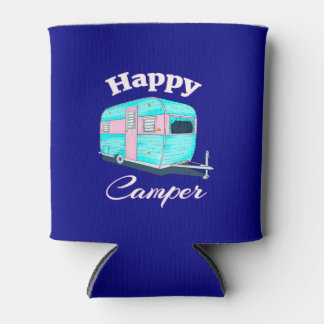 Porta-lata Acampamento do reboque de campista feliz