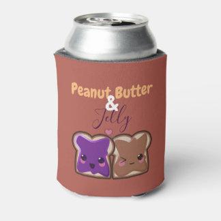 Porta-lata Amigos da manteiga e da geléia de amendoim de