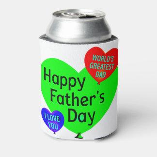 Porta-lata Amor feliz do dia dos pais