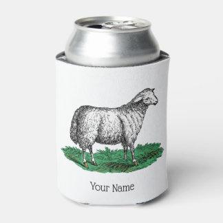 Porta-lata Animais de fazenda da ovelha dos carneiros do