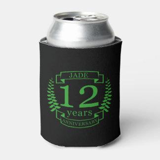 Porta-lata Aniversário de casamento de pedra preciosa do jade