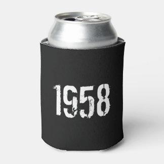 Porta-lata Aniversário do nascer em 1958 60th