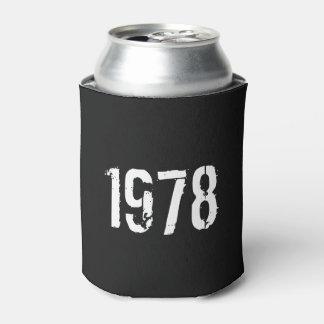 Porta-lata Aniversário do nascer em 1978