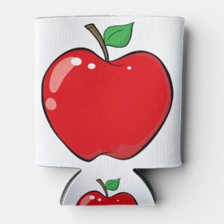 Porta-lata Apple vermelho bonito frutifica
