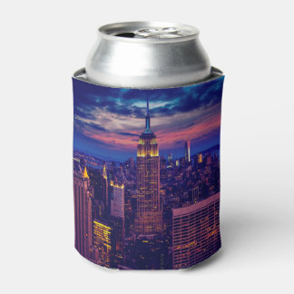 Porta-lata Arquitectura da cidade de New York na noite