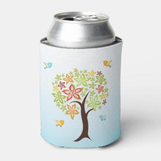 Porta-lata Árvore e pássaros