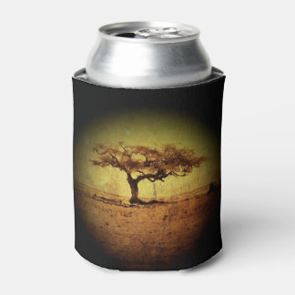 Porta-lata Árvore rústica
