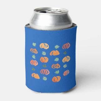Porta-lata As abóboras com folhas enlatam o refrigerador