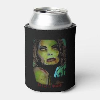 """Porta-lata """"Assim esta é adeus (zombi)"""" pintura em a"""