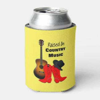 Porta-lata Aumentado na vaqueira legal da música country