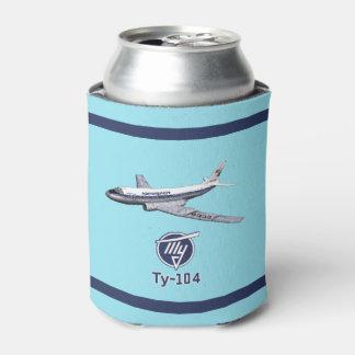 Porta-lata Avião de passageiros Tu-104 do Tupolev (Туполев)