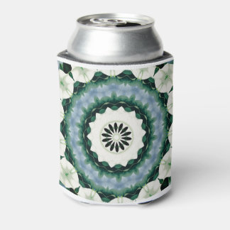 Porta-lata Azul Cerulean e mandala verde de Sacramento