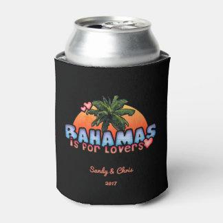 Porta-lata Bahamas são para os amantes (customizáveis)